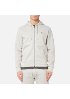 Polo Ralph Lauren Men's Zip Track Top - Light Sport Heather - M - Grey