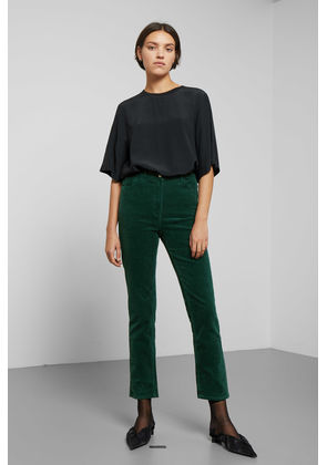 Eve Cord Trousers - Green