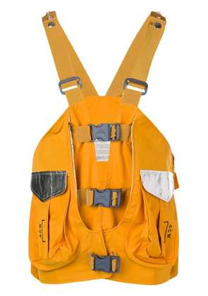 A-Cold-Wall* vest backpack - Yellow
