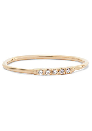 Loren Stewart - 14-karat Gold Diamond Ring - 7