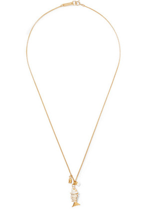 Isabel Marant - Gold-tone And Enamel Necklace - one size