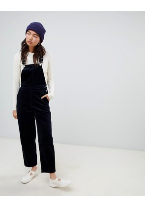 Weekday cord dungaree in navy - Navy