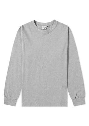 orSlow Long Sleeve Tee Heather Grey