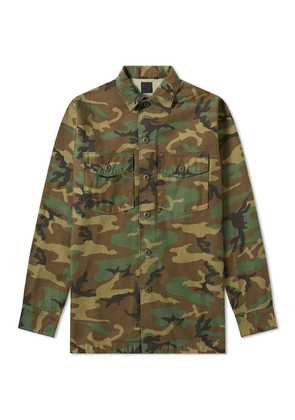 orSlow US Army Shirt Woodland Camo