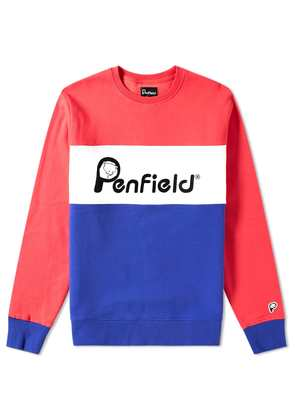 Penfield Hudson Sweat Raspberry