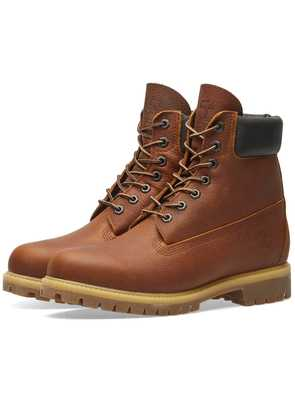 Timberland Heritage 6' Premium Boot Medium Brown Full-Grain