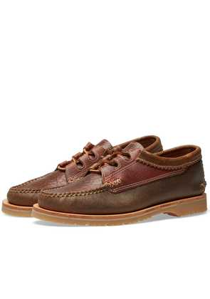 Yuketen Mini Lug Sole Ghillie Moc Brown Multi