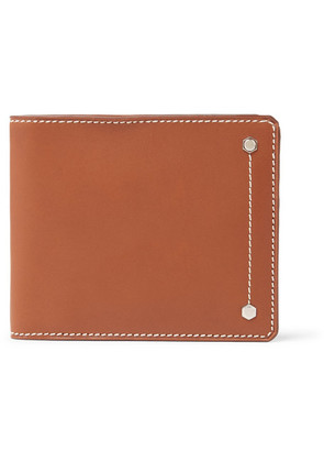 Connolly - Hex 1904 Leather Billfold Wallet - Tan