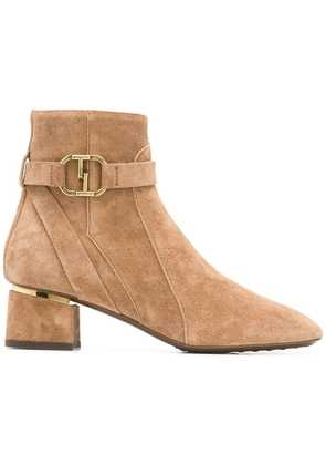 Tod's low-heel ankle boots - Neutrals