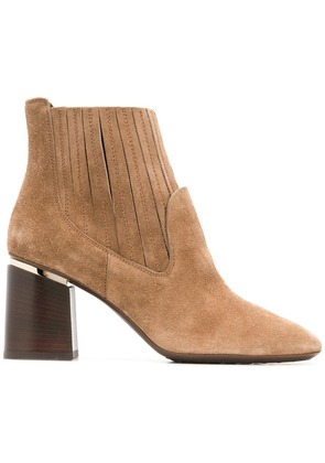 Tod's heeled ankle boots - Neutrals