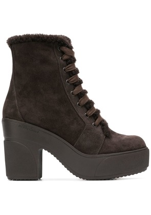 See By Chloé ankle lace-up boots - Brown