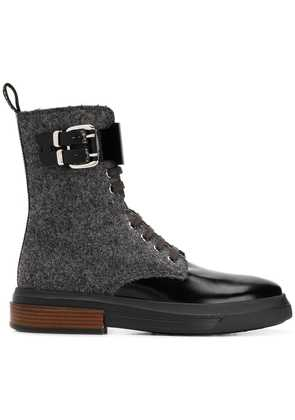 Tod's lace-up ankle boots - Grey