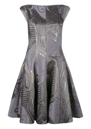 Talbot Runhof Korbut dress - Grey