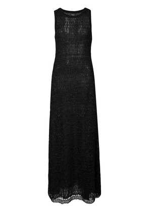 Giambattista Valli long knitted dress - Black