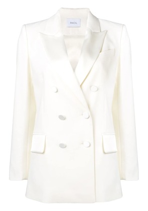 Racil double breasted blazer - White