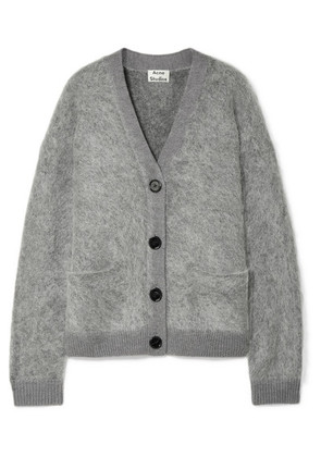 Acne Studios - Rives Knitted Cardigan - Light gray
