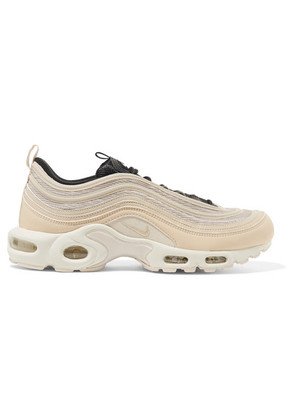 Nike - Air Max 97 Plus Leather And Mesh Sneakers - Cream