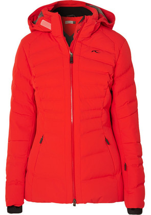 Kjus - Duana Quilted Down Ski Jacket - Red