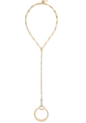 Chloé - Reese Gold-tone Necklace - one size