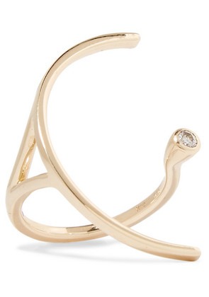 Hirotaka - Tree Hopper 10-karat Gold Diamond Ring - 6