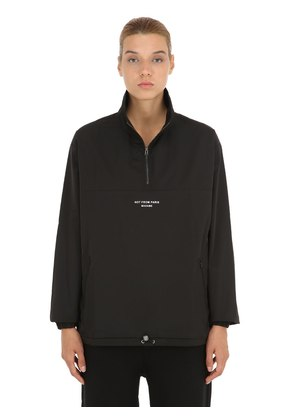 NFPM EMBROIDERED TECHNO JACKET