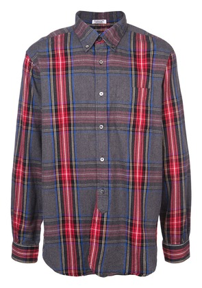 Engineered Garments button-down checked shirt - Blue