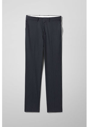 Bodie Pinstriped Trousers - Blue