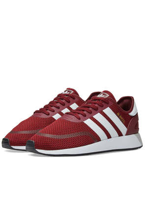 Adidas N-5923 Burgundy, White & Black