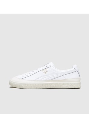 PUMA Clyde Leather, White