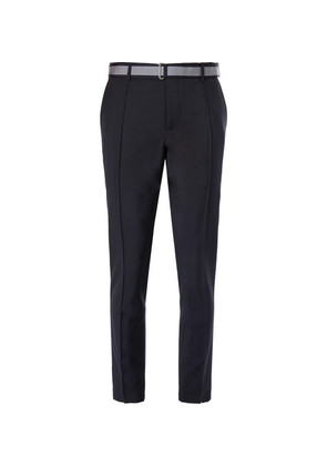 Tapered Wool And Mohair-blend Trousers