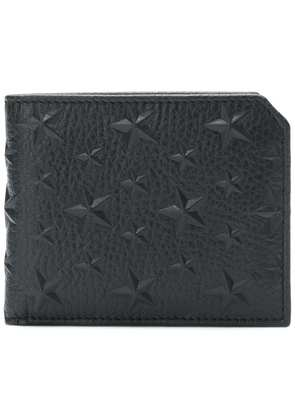 Jimmy Choo Murray star embellished wallet - Black