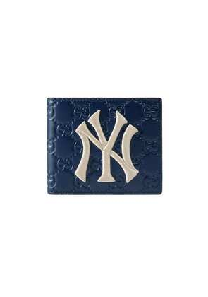Gucci Wallet with NY Yankees™ patch - Blue