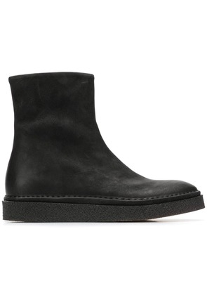 Del Carlo zipped boots - Black