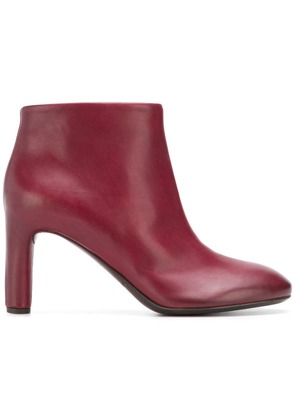 Del Carlo high heel boots - Red