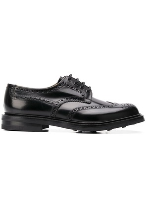 Church's perforated lace-up brogues - Black