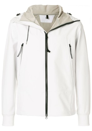 CP Company contrast zip jacket - White