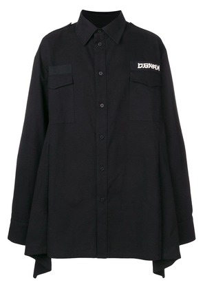 D.Gnak loose flared shirt - Black