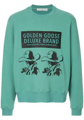 Golden Goose Deluxe Brand printed sweatshirt - Green
