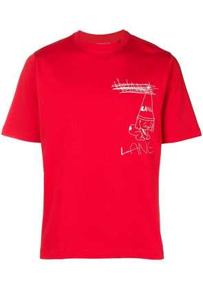 Helmut Lang Lang T-shirt - Red