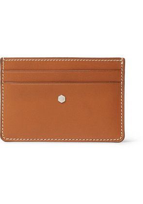 Connolly - Hex 1904 Leather Cardholder - Tan