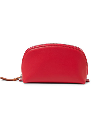 Connolly - Printed Leather Pouch - Red
