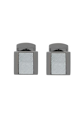 Tateossian Carbon Freeway cufflinks - Metallic