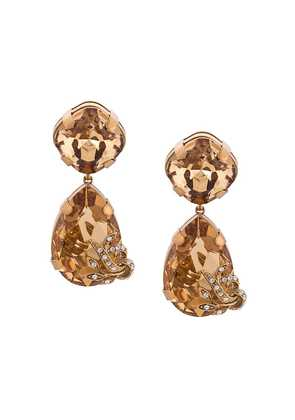 Dolce & Gabbana teardrop earrings - Gold