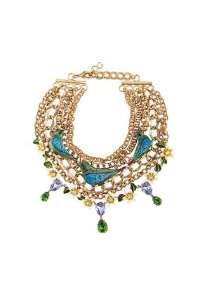Dolce & Gabbana birds necklace - Gold