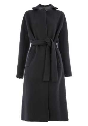 32 Paradis Sprung Frères loose fitted coat - Blue