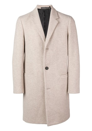Theory single breasted coat - Neutrals