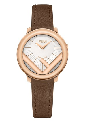 Fendi F logo watch - Brown