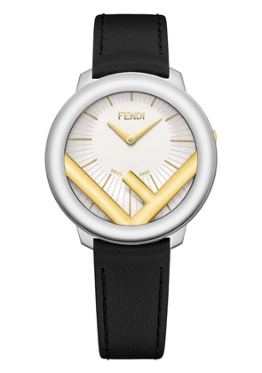 Fendi F logo watch - Black