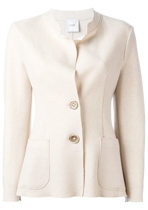 Agnona buttoned fitted jacket - Neutrals