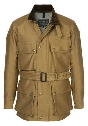 Addict Clothes Japan military belted jacket - Brown